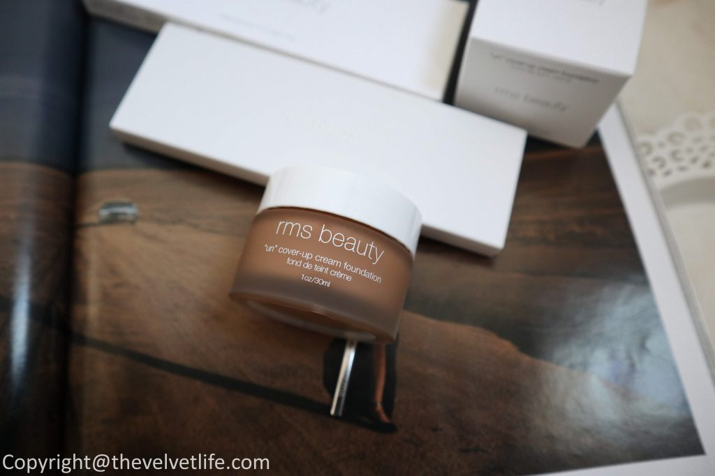 "Review and swatches of the new RMS Beauty - ""Un"" Cover-up Cream Foundation and Sensual Skin Trio"