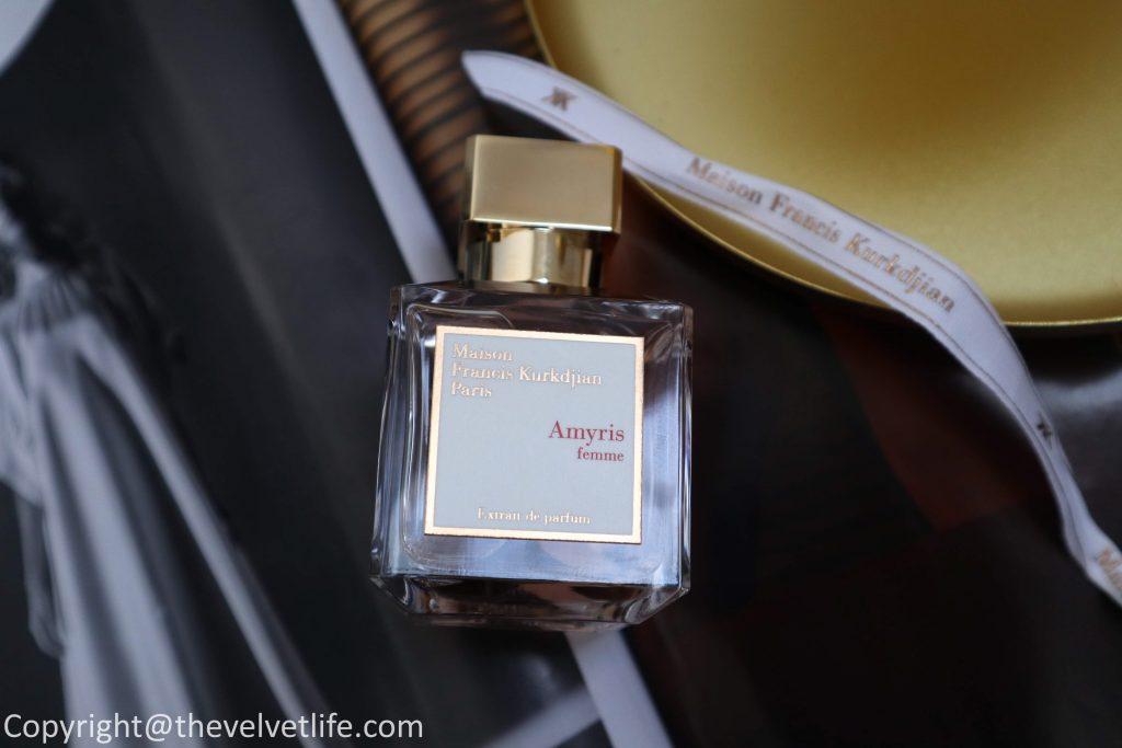 Maison Francis Kurkdjian Amyris femme Extrait de parfum review