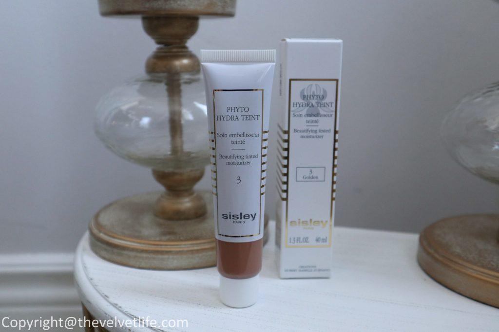 Sisley-Paris Phyto Hydra Teint review and swatches of this new tinted moisturizer