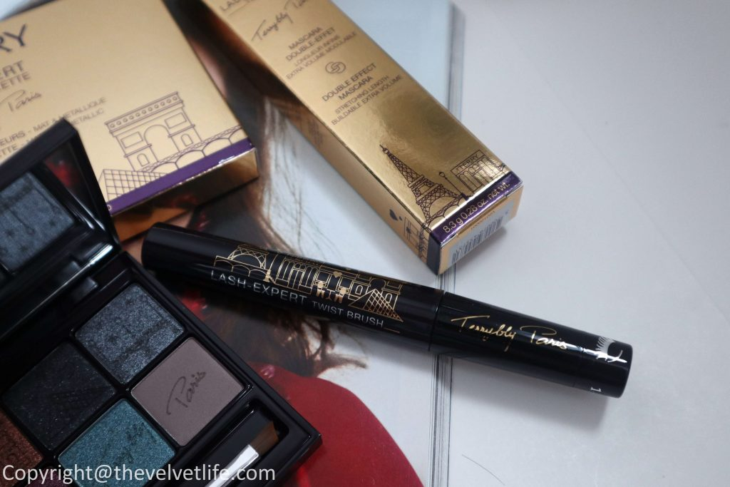 By Terry new Terrybly Paris Collection review swatches V.I.P Expert Palette Paris By Night, Hyaluronic Hydra Powder, and Lash Expert Twist Brush