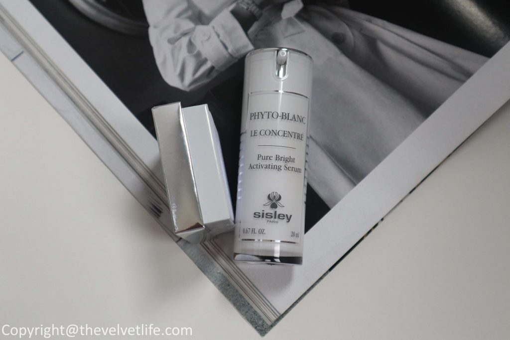 New Sisley-Paris Phyto-Blanc Pure Bright Activating Serum review