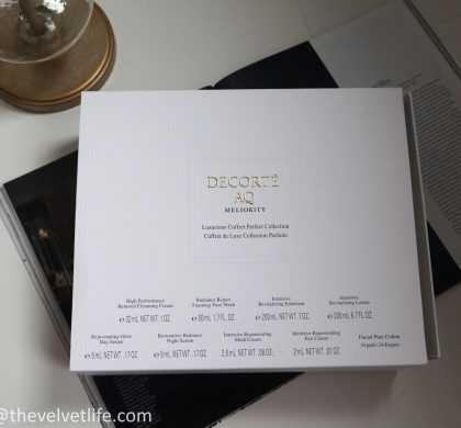 Decorte Limited Edition AQ Meliority Luxurious Coffret