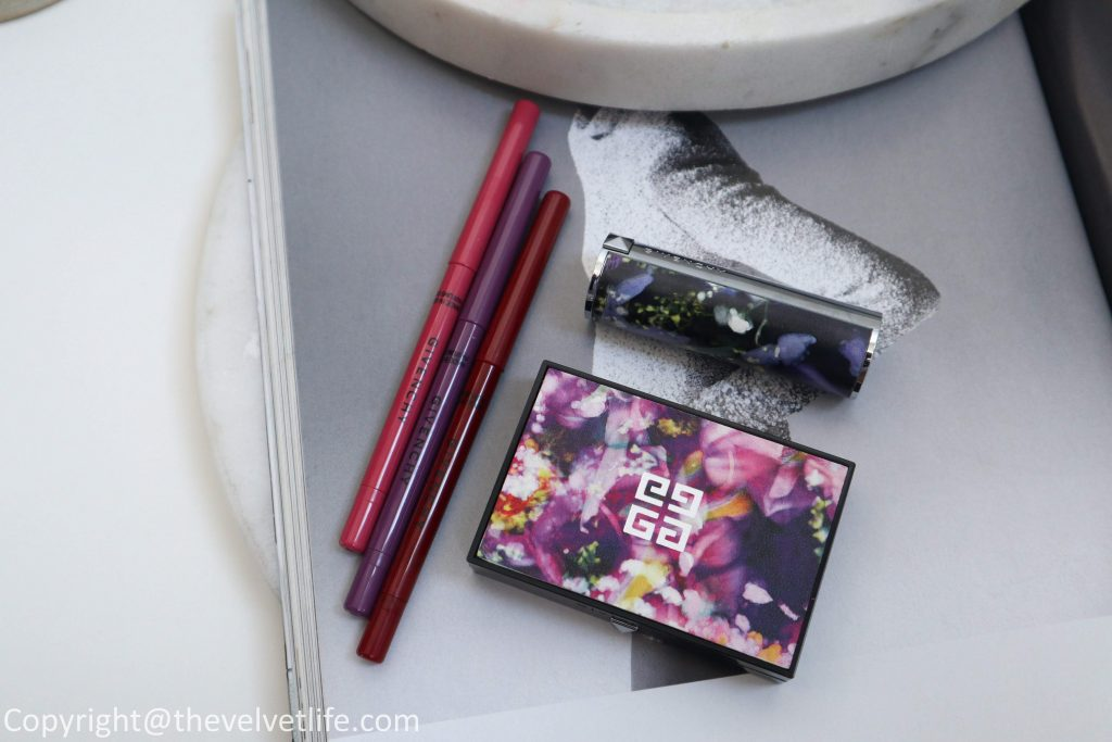 New Givenchy Gardens Spring 2020 Collection review swatches of Le Rouge, Khôl Couture Waterproof, and Prisme Blush in Spice