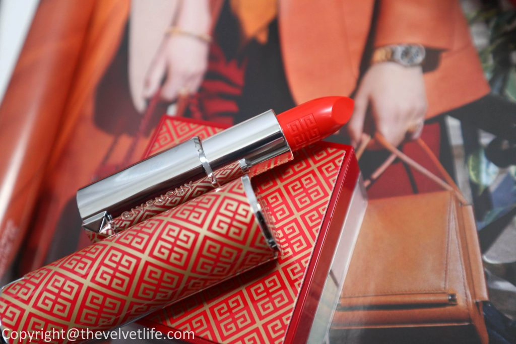 Givenchy Couture Edition 2020 Makeup Collection review swatches new Le Rouge Prisme Libre, Givenchy Lunar New Year 2020, Le Rouge Valentines Day 2020