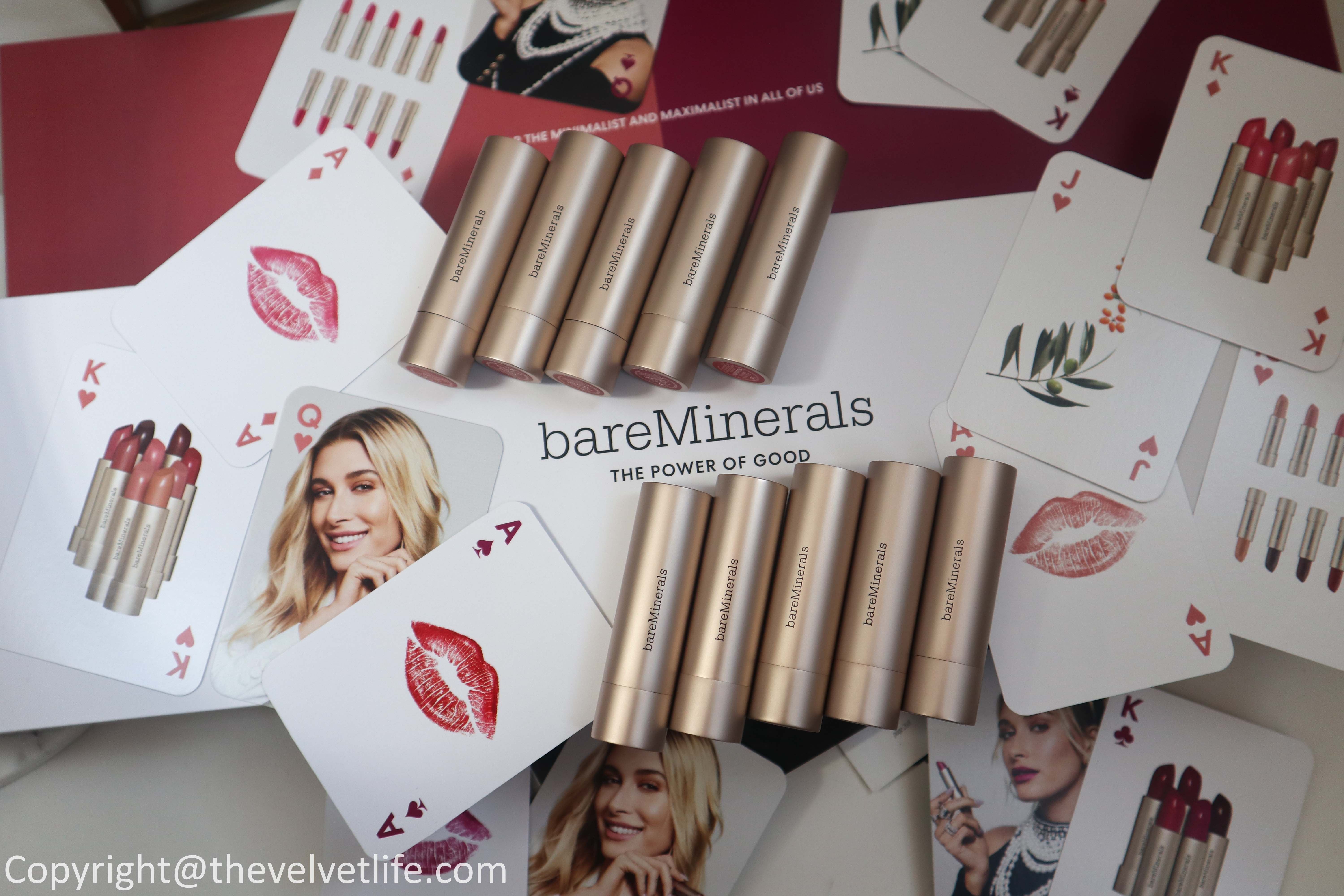 Review and swatches of the new bareMinerals Mineralist Hydra-Smoothing Lipstick