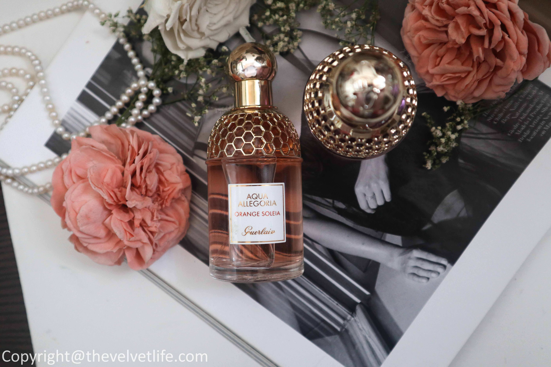 Review of the new Guerlain summer 2020 Aqua Allegoria range Orange Soleia and Granada Salvia