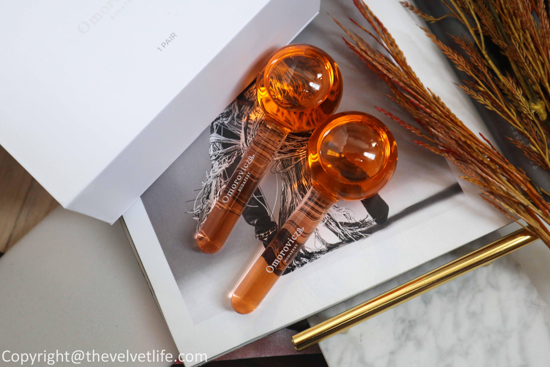 new Omorovicza IlluminEye C review derma globes