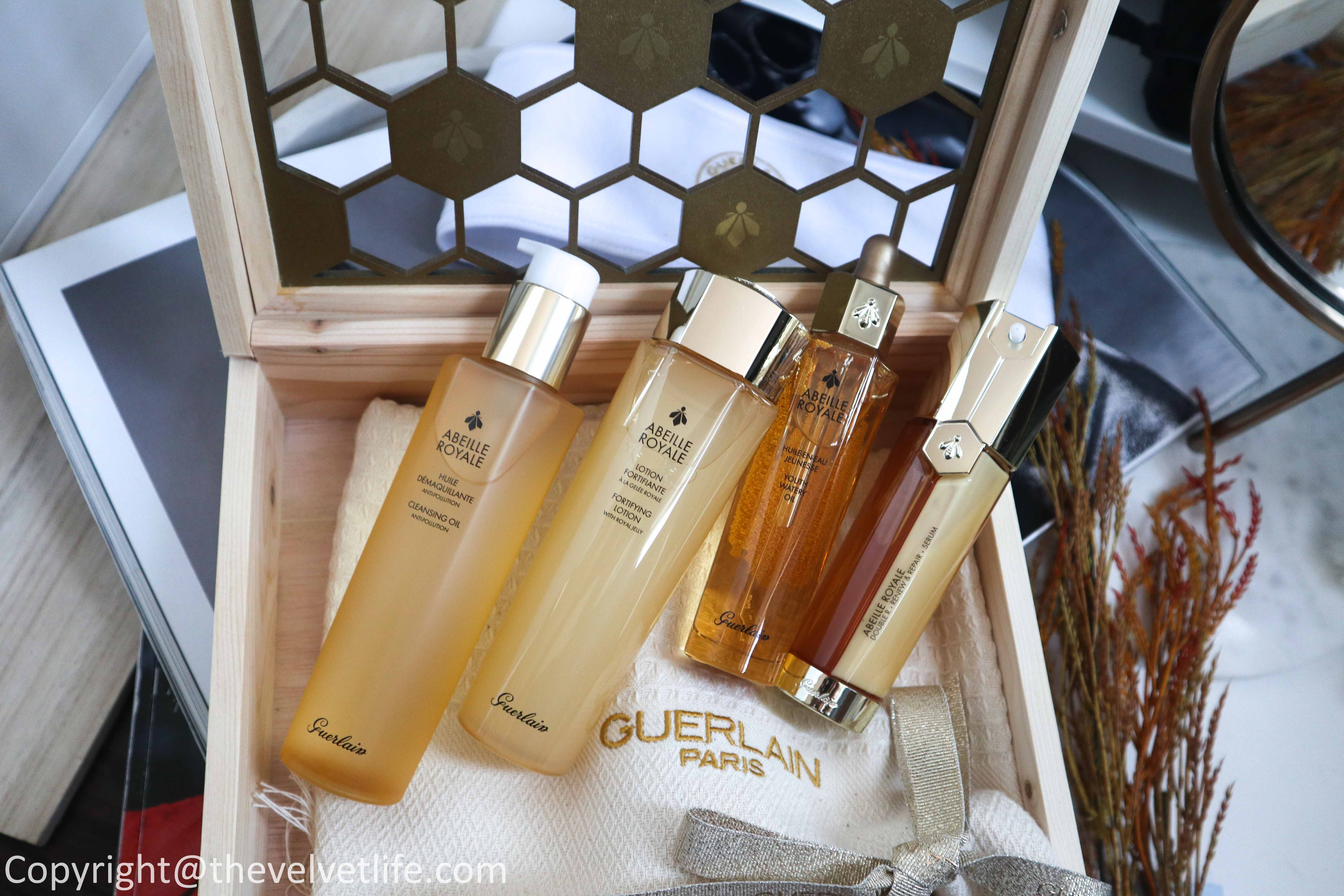 New launches Guerlain Abeille Royale Cleansing Oil and Fortifying Lotion review